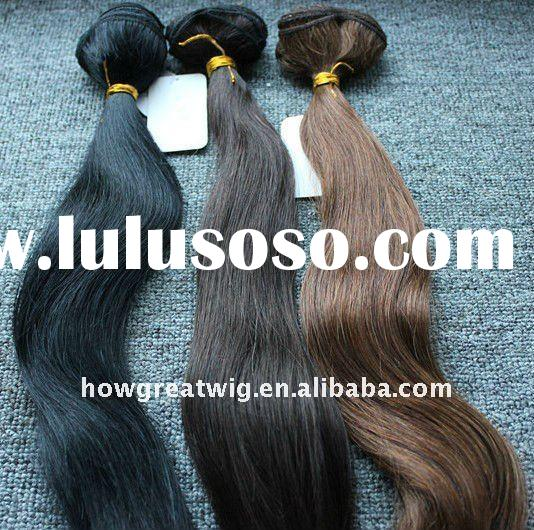 Best Service quality hair extension machine weft cheap indian natural straight hair weave