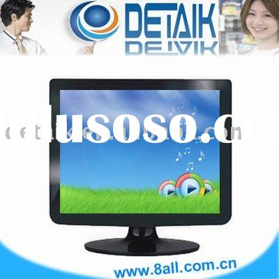 "Black color 15"" TFT LCD TV or PC monitor; Computer Monitor"