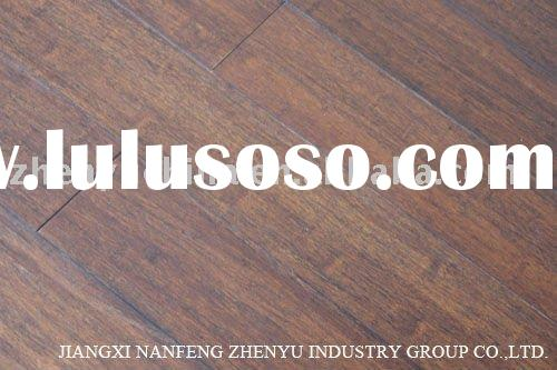 Black walnut Strand woven bamboo flooring