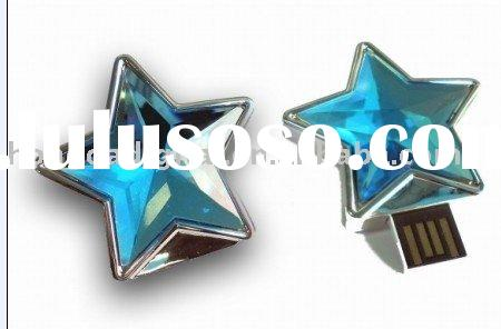 Blue Star USB Flash Pen Drive