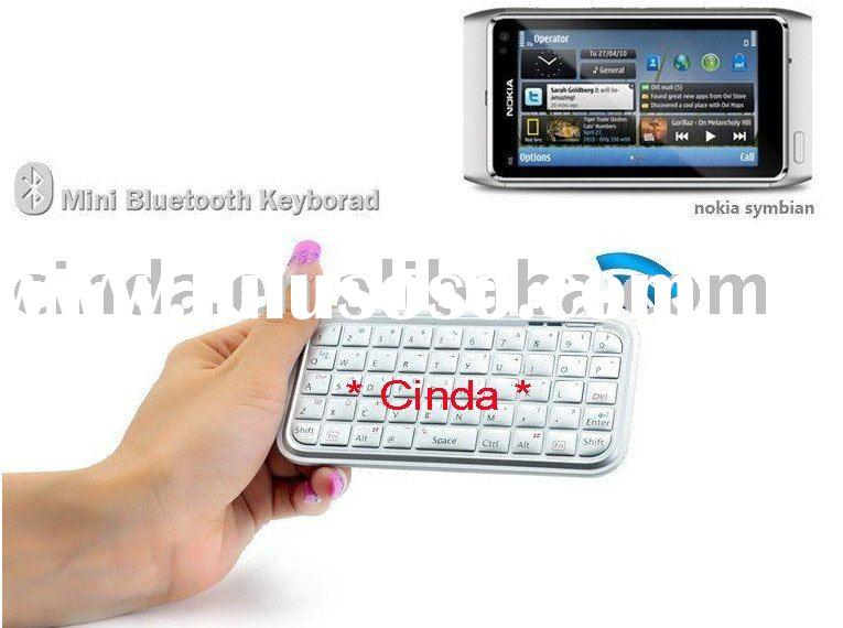 Bluetooth Micro Keyboard compatible for iPAD/iPhone 4G