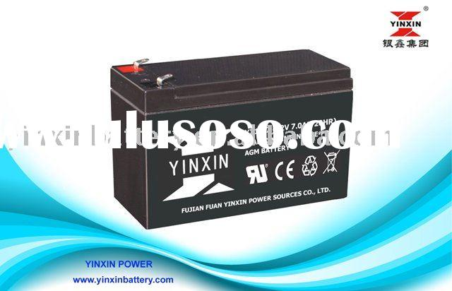 Brand 12v 7Ah rechargeable Sealed Lead acid Battery pack