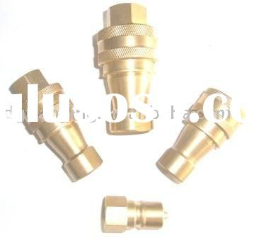 Brass Type Hydraulic Quick Coupler