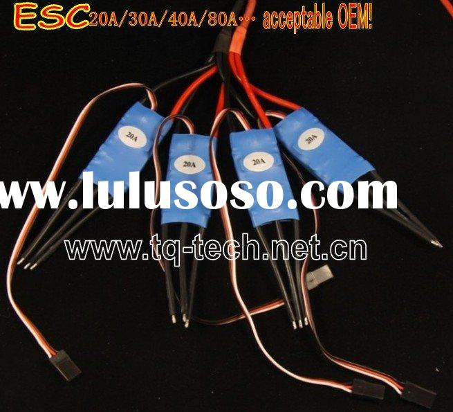 Brushless Motor 20A ESC for RC toys Helicopters RC airplane