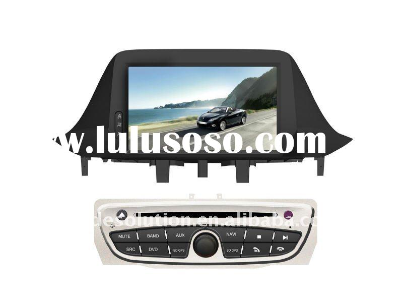 Car DVD Player with Built in GPS Bluetooth iphone ipod Dual Zone HD Screen for Renault Megane III