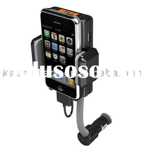 Car kit for iPhone 4(Car FM transmitter, Car charger and Car Holder for iPhone)