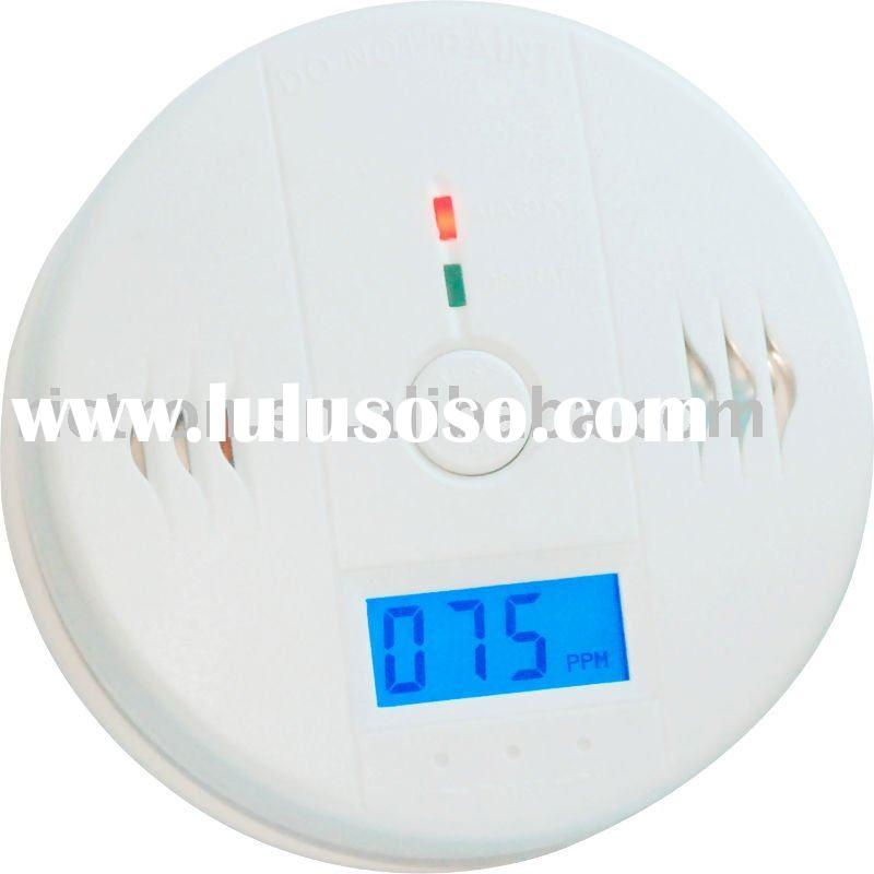 Carbon Monoxide Detector/co alarm with LCD Displayer RCC426