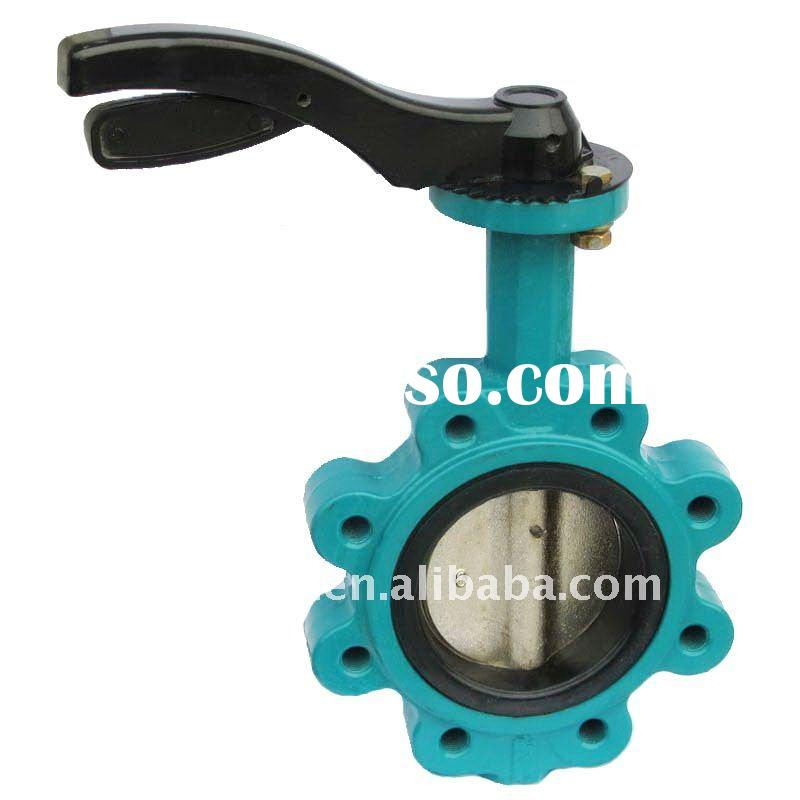 Cast Iron Wafer Low Pressure LT Butterfly Valve
