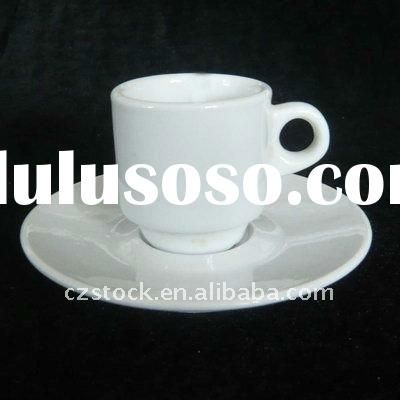 Cheap Stock Porcelain Tea Cup And Saucer