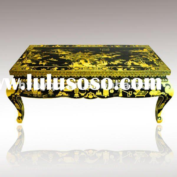 Chinese Folk furniture-antique wood coffee table