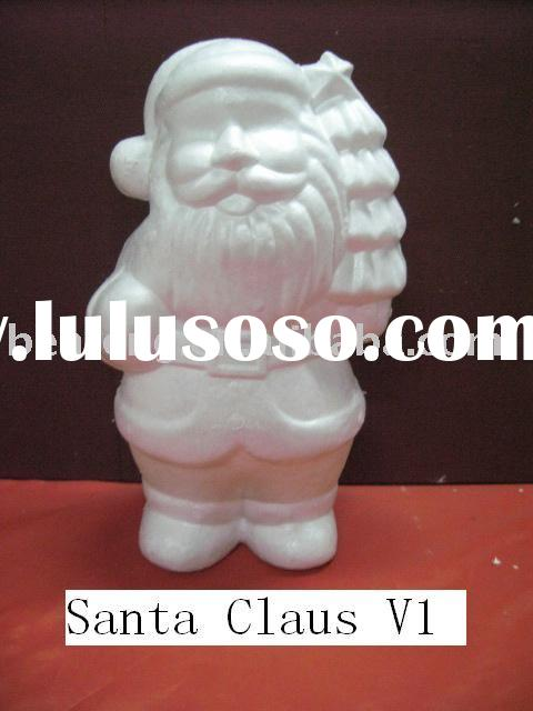 Christmas decoration- Foam Santa claus