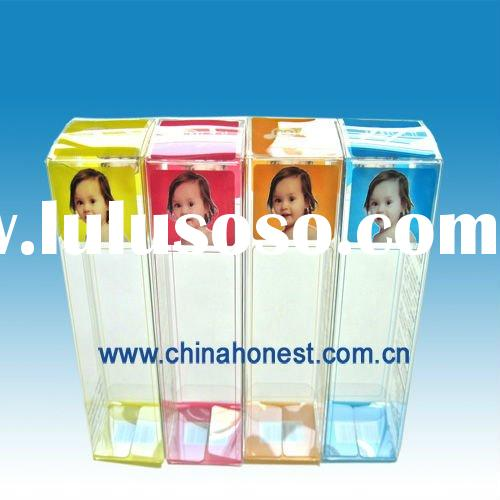 Clear Plastic Folding PVC Packing Box for Crafts