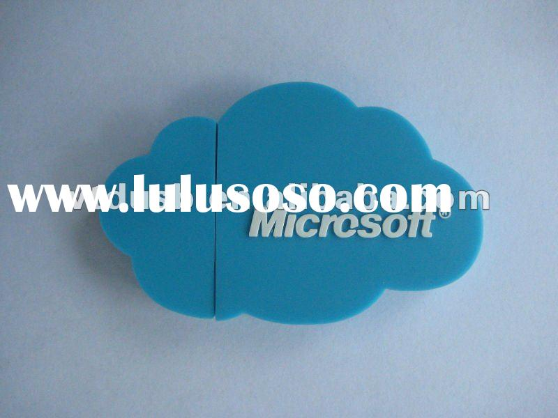 Cloud shape usb flash drive, OEM Customized shape cloud shape usb flash drive