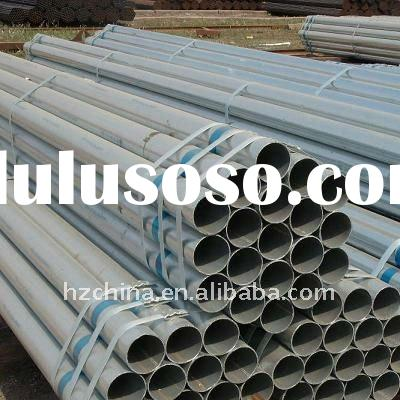 Cold Rolled Q235 SCH80 galvanized seamless steel pipe