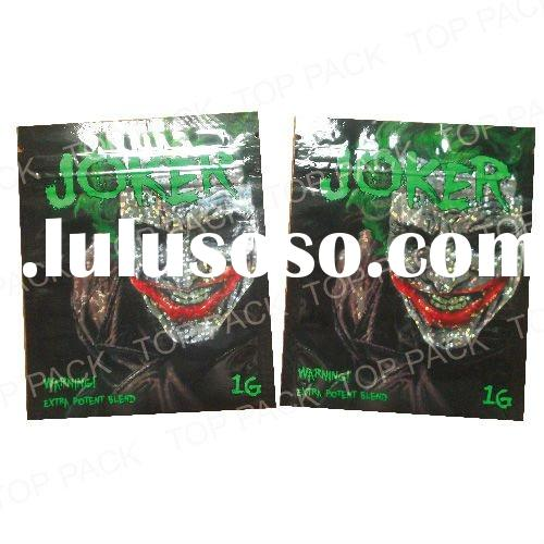 Colorful Packaging Bag With Zipper 3g 5g