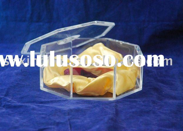 Colorful acrylic tissue box for restaurant,custom clear acrylic package box