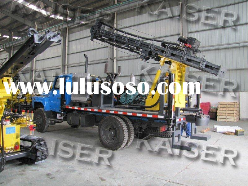 Complete hydraulic Truck-mounted water well drilling rig