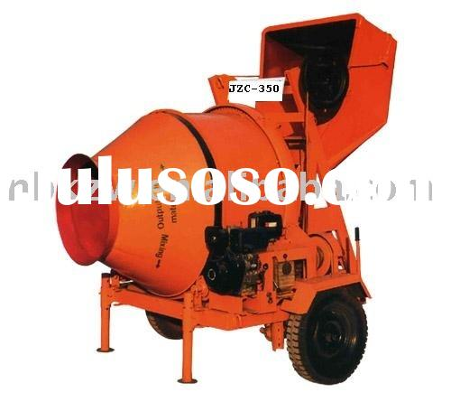 Concrete mixer machine JZC-350B (diesel mixer,concrete mixer with diesel engine)