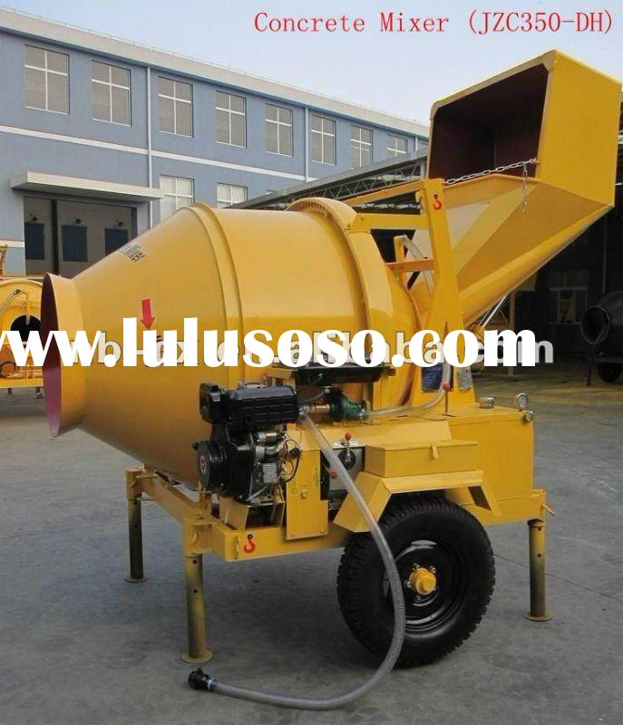 Stainless Steel Concrete Mixer : Conical hopper stainless