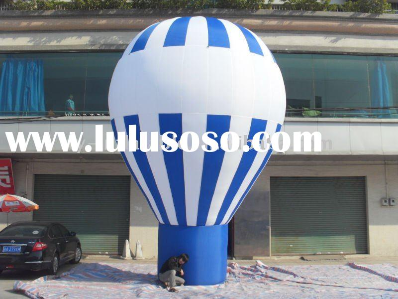 Customized ground advertising inflatable balloon