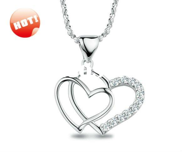 D20810 silver925 jewelry silver pendant rhodium plated