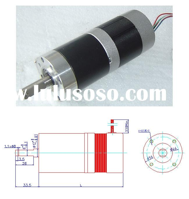 DC brushless planetary gear motor