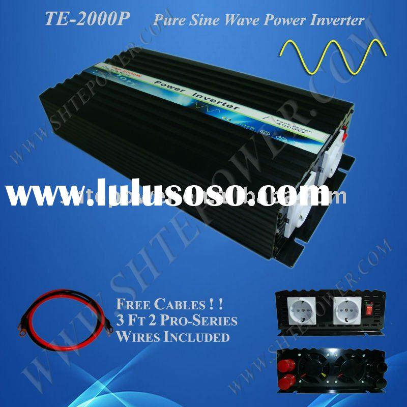 DC to AC Pure Sine Wave Power Inverter with Charger 5000W