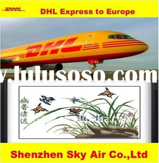 DHL express of cross stitch from shenzhen to Europe door to door service