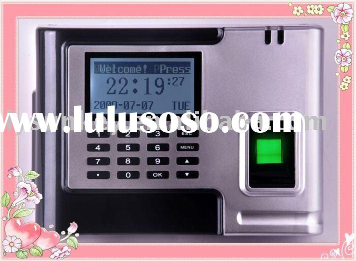 D-526 biometric time attendance with recharged battery