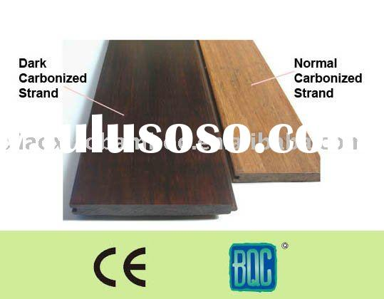Dark Carbonized Strand Woven Bamboo Floor
