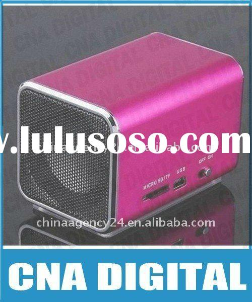 Digital Mini Speaker with USB/ Micro SD Card Reader Sound Box Music Angel