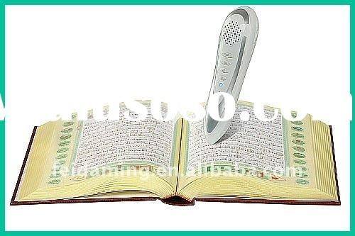 Digital Mp3 Player, Quran Read Pen, 20 Translations, 7 Famous Reciter & 4GB