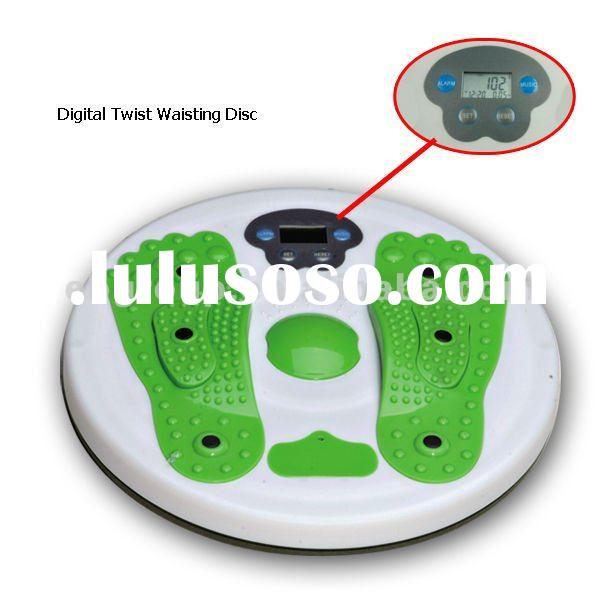 Digital Twist Board ,Exercise board ,Twist board with bands,Exercise twist board,exercise board with