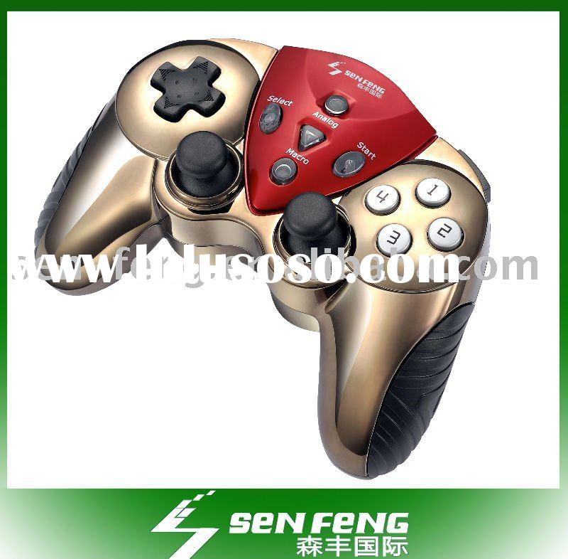 Double shock wireless bluetooth remote control for PS3 sony joystick game