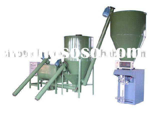 Dry mixing mortar production line