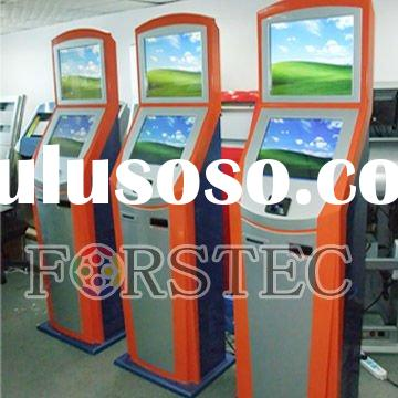Dual Touch Screen Payment Kiosk/ Dual display advertising kiosk