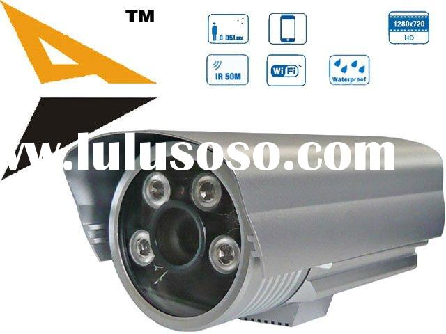 ECSON 0.05Lux Low-light CMOS, 1.3 MegaPixels IR IP Wireless Security Camera cctv