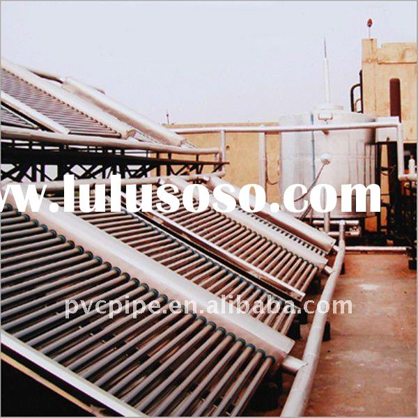 EPDM Swimming Pool U Tube Solar Water Heaters for Projects