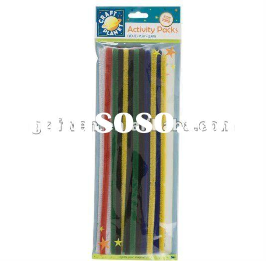 Education toys Chenille stem,pipe cleaner