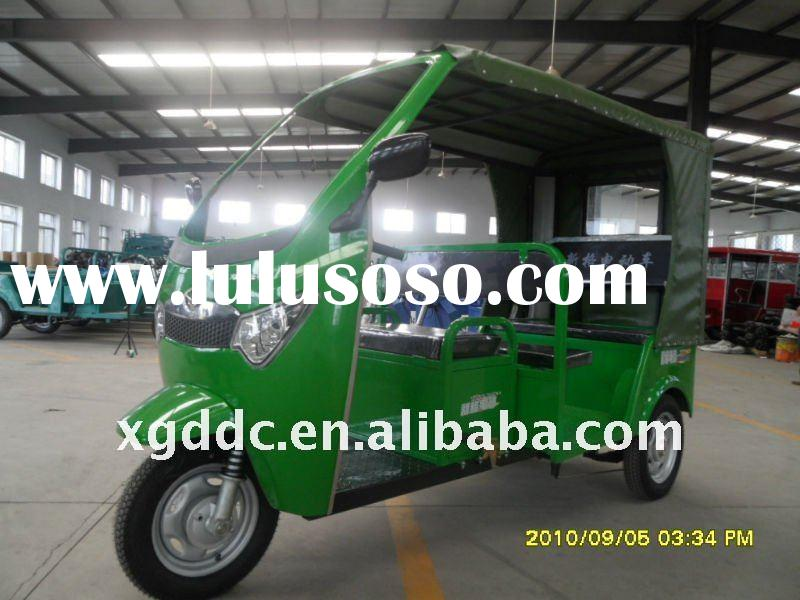 Electric Three Wheel Passenger Vehicle