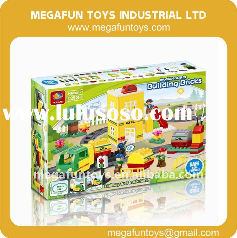 Electric Toy Train, 93pcs, Building Block Toy Train, 2096