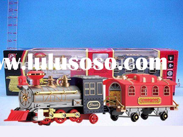Electric toy train model