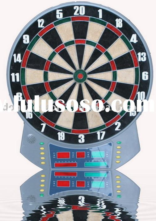 Electronic Bristle Dartboard