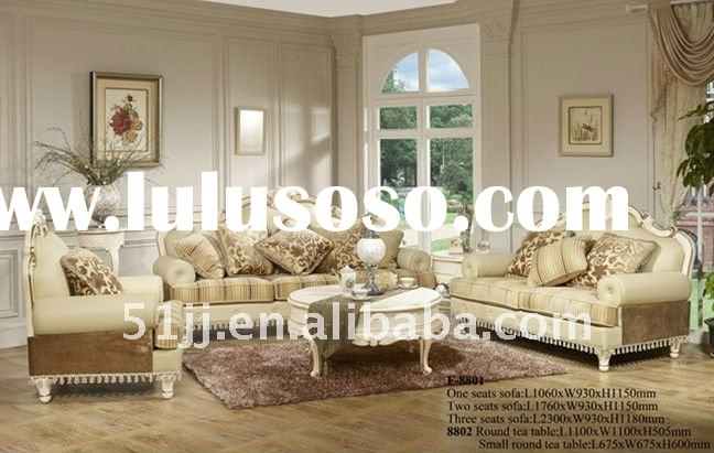 European antique style living room sofa sets FH-L-8801