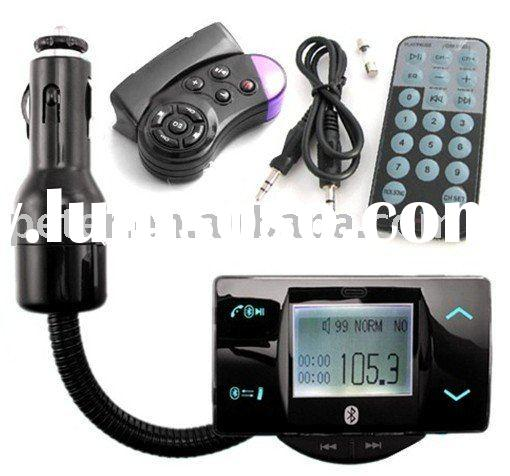 FM transmitter with bluetooth handsfree function Bluetooth Car Kit 8100