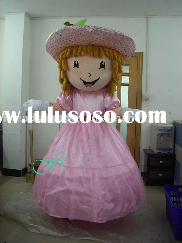 FS-COS0496 Strawberry cake cartoon character mascot costume