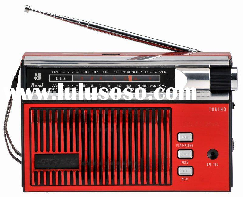 FT-004UAR MULTIBAND RADIO WITH USB/SD SLOT