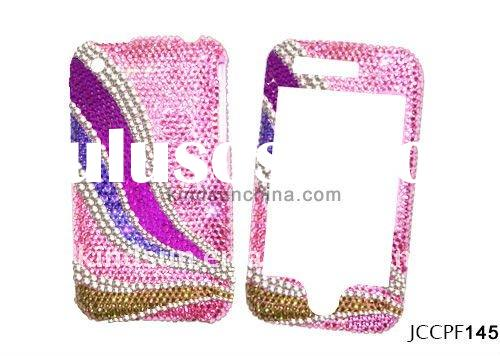 Fancy rhinestone cell phone case for Iphone 4G