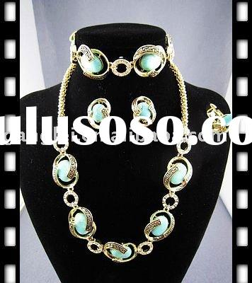 Fashion African Gold Plating Jewelry Set