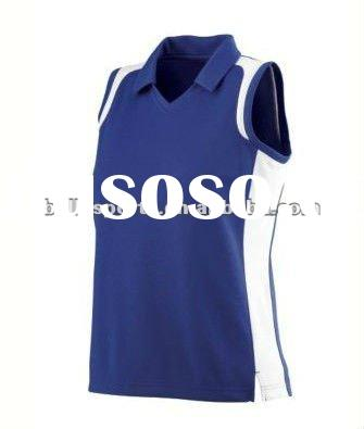 Fashion Customized Womens Sleeveless Volleyball Training Jersey Volleyball Set Volleyball Unfirom